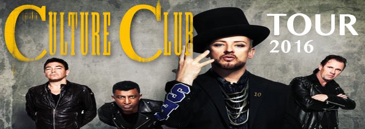 CULTURE CLUB TOUR 2016 [updated]