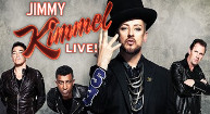 CULTURE CLUB ON<BR>JIMMY KIMMEL LIVE