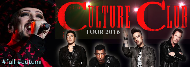 CULTURE CLUB TOUR 2016<BR>NEW DATES!