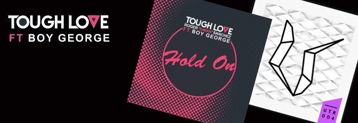 HOLD ON<br> FEAT BOY GEORGE