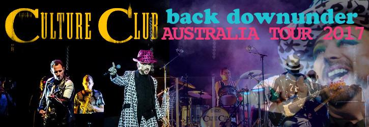 CULTURE CLUB<BR>AUSTRALIA TOUR 2017