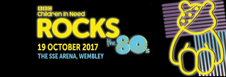 CHILDREN IN NEED<BR> ROCK THE 80'S