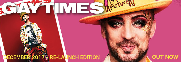 GAY TIMES RE-LAUNCH