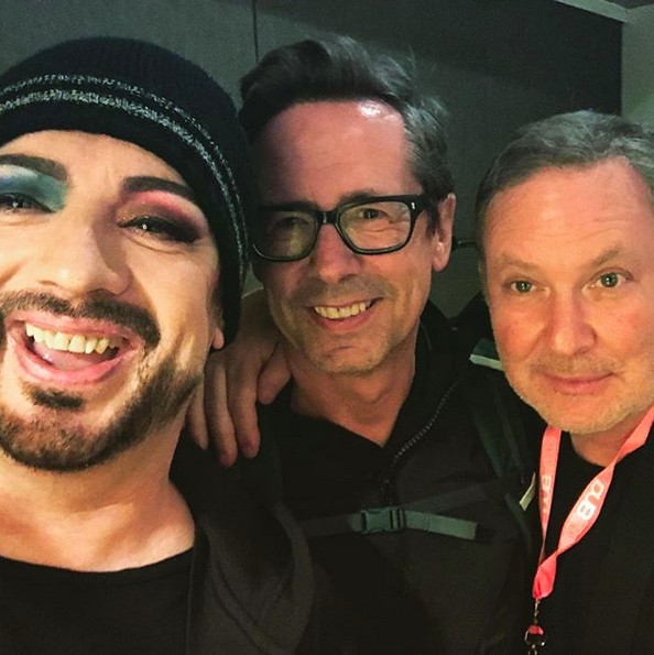 With Nick Heyward and PK