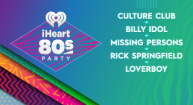 IHEART80'S PARTY WITH CULTURE CLUB